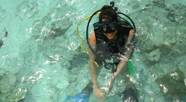 Volunteer at the Borneo Marine and Coral Conservation project