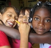 Students at Colombia Kids Project