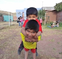 Children at Peru Community Project