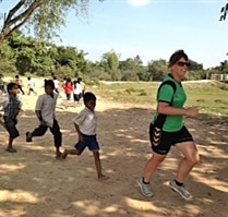 Sports volunteer in Cambodia