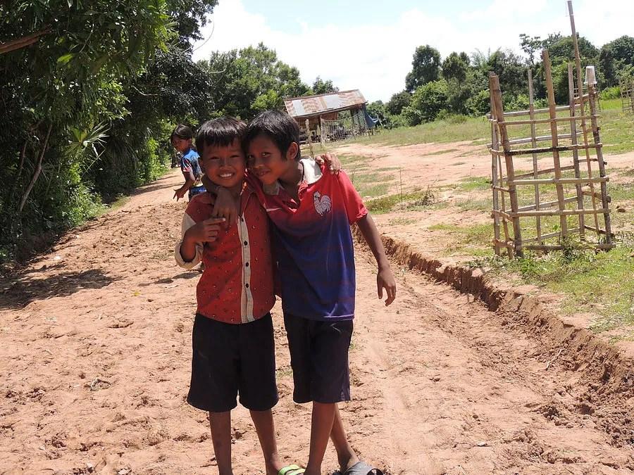 Kids at the Cambodia School
