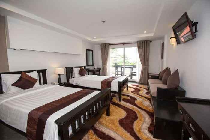 Bayon Riverside Siem Reap Cambodia Room View