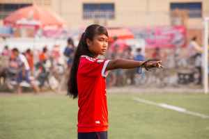 Empowering woman and girls through sport in Cambodia