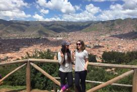 Female interns in Cusco