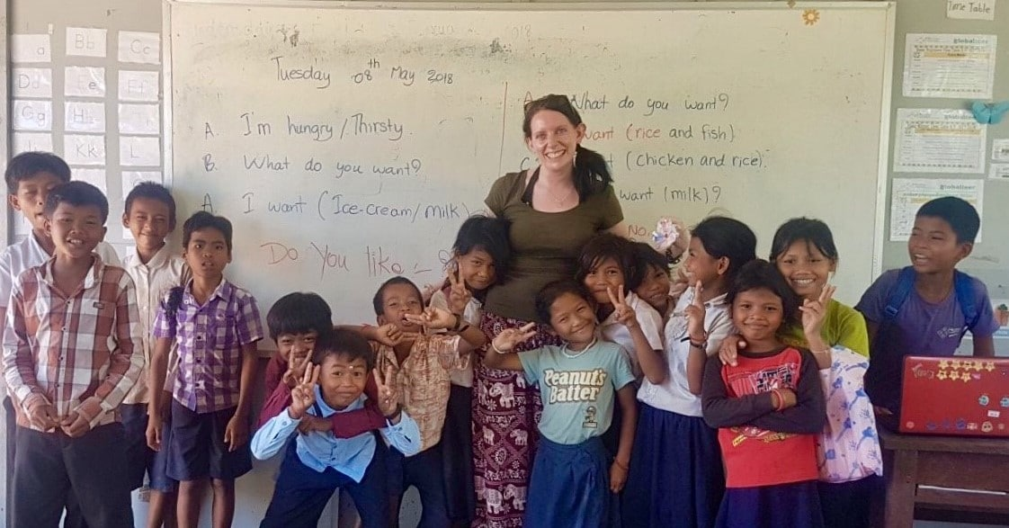 Teaching volunteer Siem Reap