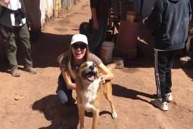 volunteer in Peru in July dog