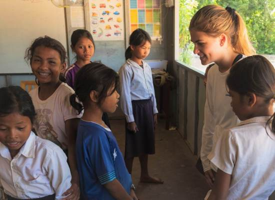 Volunteer teaching abroad Cambodia