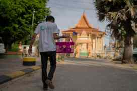 Animal Rescue Cambodia regularly works with the community