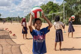 Globalteer's sports programme support gender equality