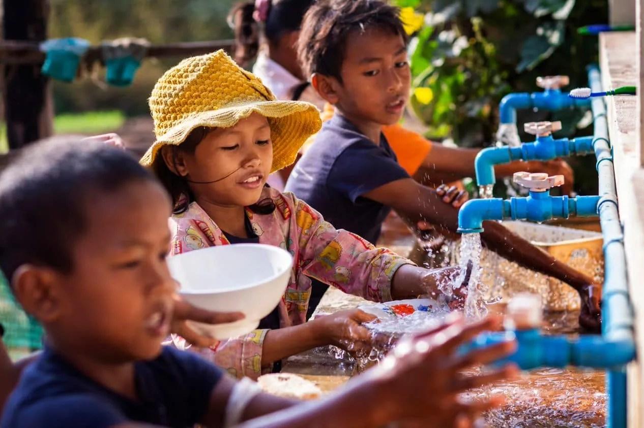 Providing Clean Water Cambodia