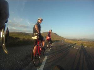 Global Therapies: Tim road cycling on the snake pass