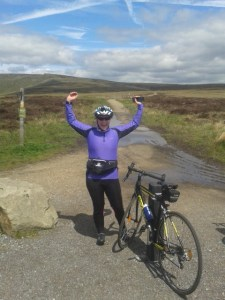 Amy Stevenson: achieving personal challenges