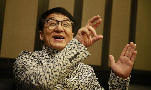 Jackie Chan Photo: Li Hao/GT