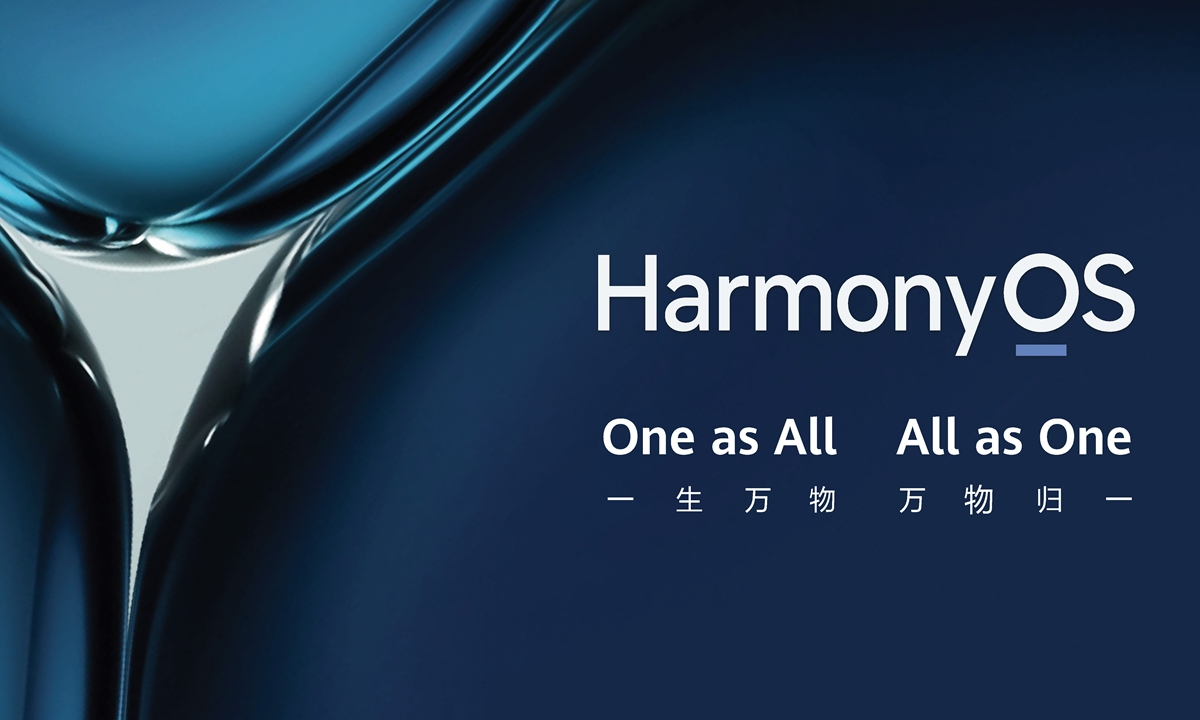 HarmonyOS sets a milestone in China's high-tech self-reliance: Global Times editorial - Global Times
