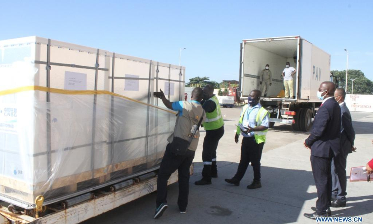 Mozambique Receives Another 500 000 Doses Of Covid 19 Vaccine Global Times