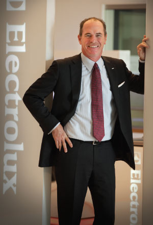 GREEN GIANT Electrolux CEO Keith McLoughlin has forwarded the appliance maker's sustainability commitment.