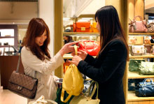 CLASS OF LUXURY As China's middle class grows exponentially, expect a proportionate increase in air-cargo shipments to support booming sales of luxury goods.
