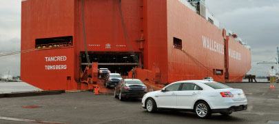 IN THE DRIVER SEAT Port of Portland's strong rail service has led to a boom in autos shipments.