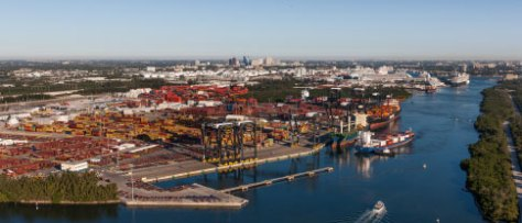 FOCUSING OUT Port Everglades says it's the No. 1 port in Florida by export volume, and No. 1 U.S. gateway to Latin America.