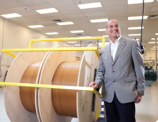 """THE POWER OF ONE Marv Sepe, COO of CTC Global, says that dealing with state-run utility companies in most foreign markets is easier than in the U.S. where, he says, there are """"thousands of bodies that have to analyze, test; it's a very slow process."""""""