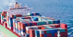 Container ship scrapping responds to levels of new capacity and of shipments of export cargo and import cargo in international trade.