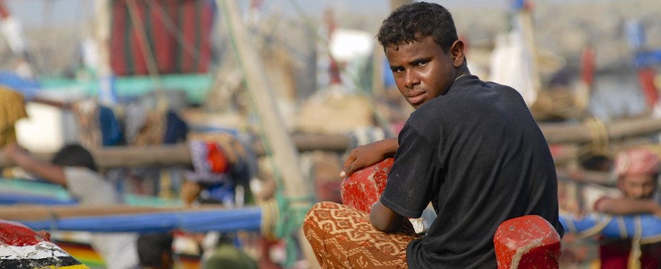 Saudi bombing of Yemen port interupted supply chain logistics of delivering cargo shipments of humanitarian aid.