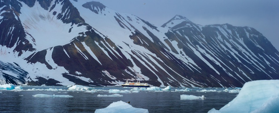 Climate change has allowed the Arctic to become a viable shipping route of export cargo and import cargo globally.