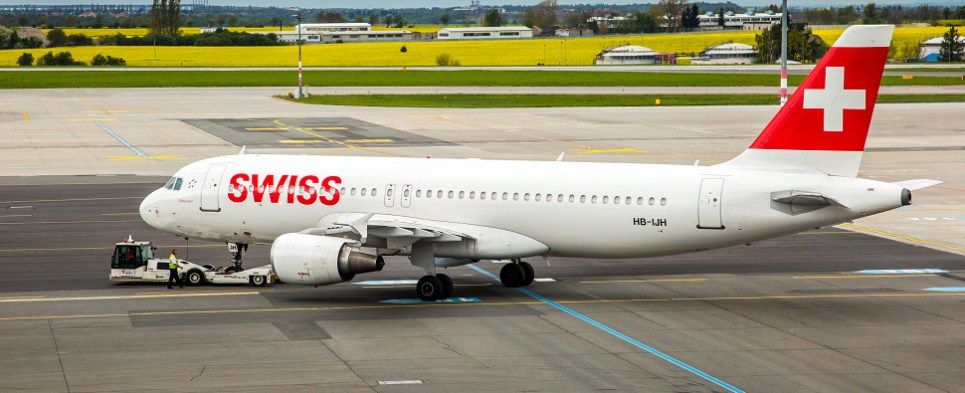 Swiss airline acceptance of electronic air waybills meant to expedite air cargo shipments of export cargo and import cargo in international trade.