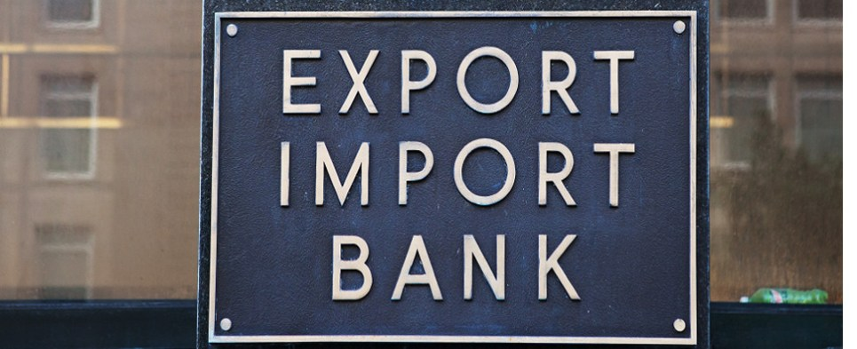 Lapse of Export-Import Bank charter has prevented U.S. companies from winning deals to ship export cargo and import cargo in international trade.