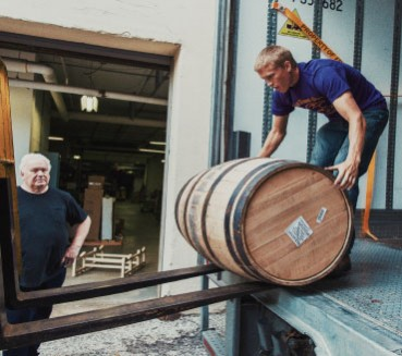 ROLLING WITH IT Tom Lix, CEO of Cleveland Whiskey, intended to export to Asia by year's end; with the devaluation of the Yuan, he intends to sell more into Europe for the time being.