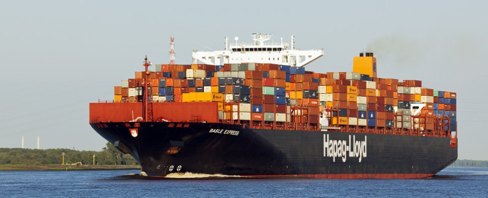 Hapag-Lloyd's ne wvessels will carry shipments of export cargo and import cargo in international trade.