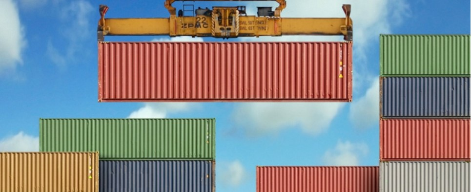 shipments of export cargo and import cargo in international trade.