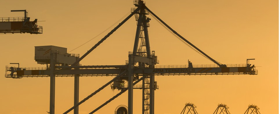 APM Terminals handles shipments of export cargo and import cargo in international trade.