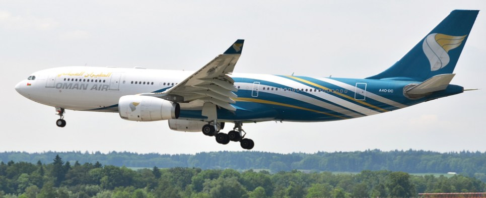 Oman Air and Cargolux will be carrying shipments of export cargo and import cargo in international trade.