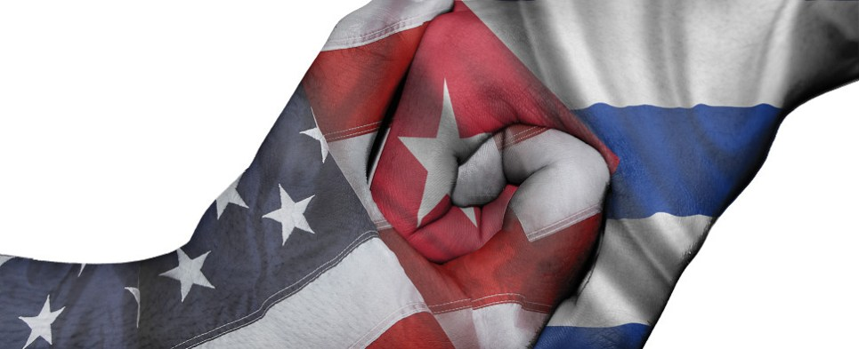 The US presidential candidates have varying opinions on the issue of lifting the embargo on Cuba of shipments of export cargo and import cargo in international trade.