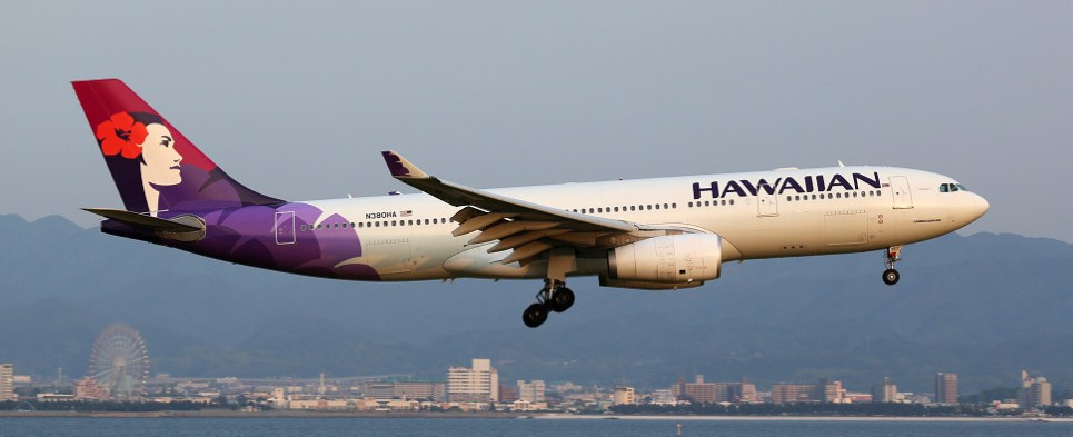Hawaiian Airlines demonstrated environmental practices while carrying shipments of export cargo and import cargo in international trade.