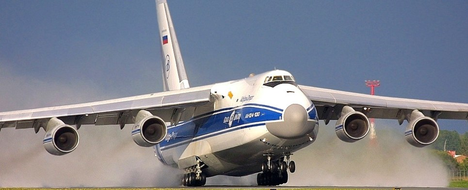 Volga-Dniepr Airlines delivered critical shipments of export cargo and import cargo in international trade.