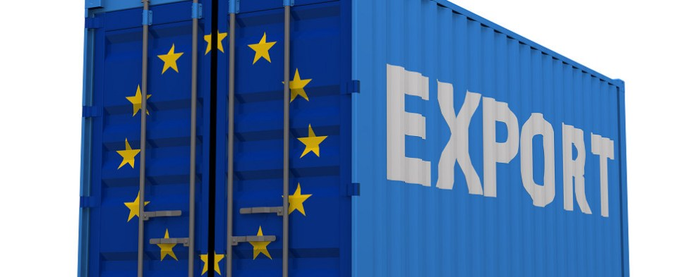 Global economic conditions dictate that the EU economy will be less dependent upon shipments of export cargo and import cargo in international trade.