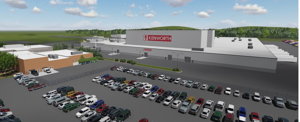 Kentworth builds trucks that carry shipments of export cargo and import cargo in international trade.