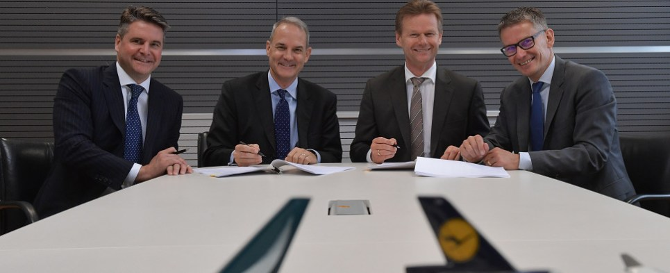 Lufthansa Cathay combination wil carry more air shipments of export cargo and import cargo in international trade.