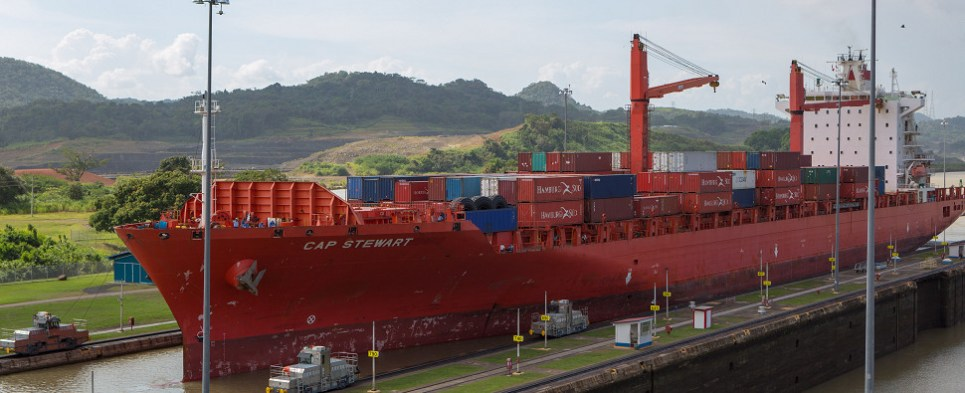 Panama's Corozal port will handle contaier shipments of export cargo and import cargo in international trade.