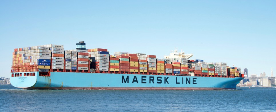 New Maersk Line service will carry shipments of export cargo and import cargo in international trade.