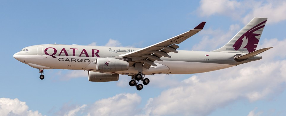Qatar Airways has strategy to carry more shipments of export cargo and import cargo in international trade.