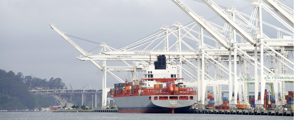 Port of Oakland provides renewable energy to customers involved in shipments of export cargo and import cargo in international trade.