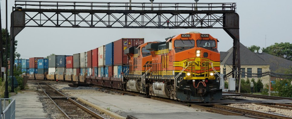 Southern California intermodal facility would have handled shipments of export cargo and import cargo in international trade.