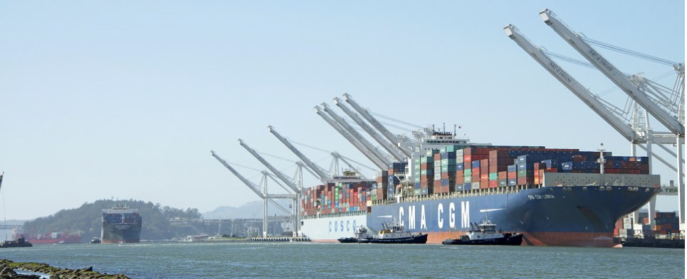 OCEAN Alliance proposed to carry shipments of export cargo and import cargo in international trade.