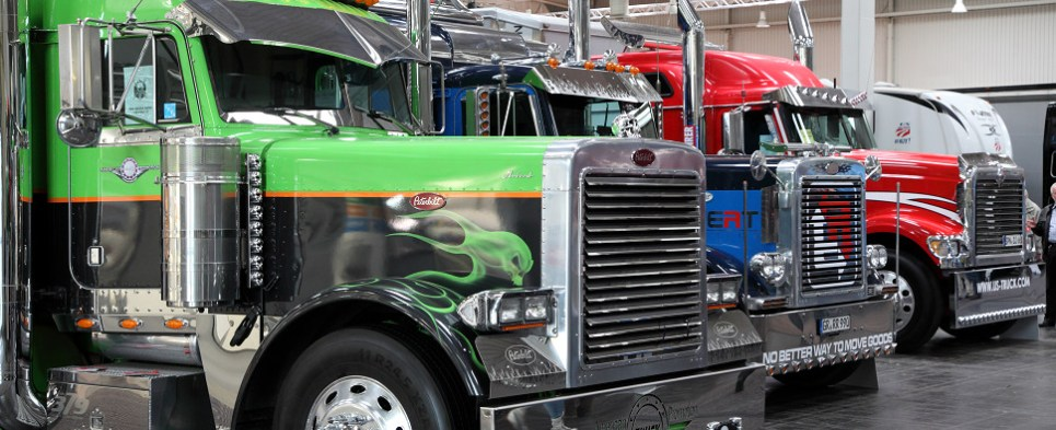 New truck being developed to carry shipments of export cargo and import cargo in international trade.