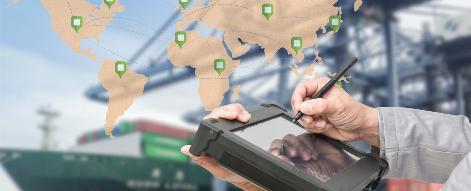 Technology can aid freight forwarders process more shipments of export cargo and import cargo in international trade.