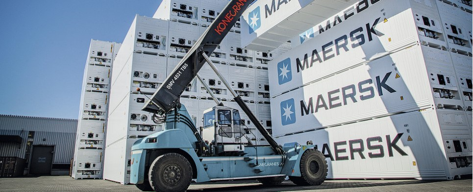 Additional reefer containers will allow Maersk to carry more shipments of export cargo and import cargo in international trade.