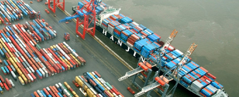 Hanjin's Europe operations, whihc handled shipments of export cargo and import cargo in international trade, will close.